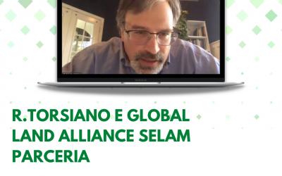 Reunião com Global Land Alliance sela parceria para aplicação de pesquisa de percepção sobre insegurança da posse de terra