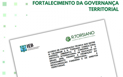 R.TORSIANO e Instituto Internacional de Educação do Brasil (IEB) firmam acordo de cooperação
